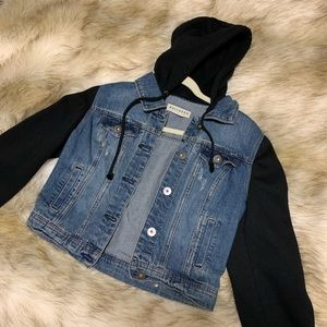 Bullhead denim hooded jacket